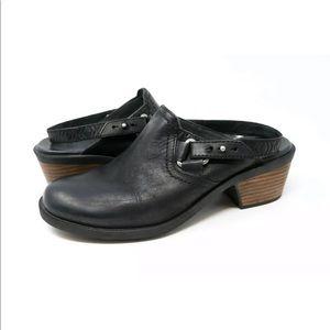 ddb82efc183e Teva Foxy Slingback Mule Ankle Heel Strap Black